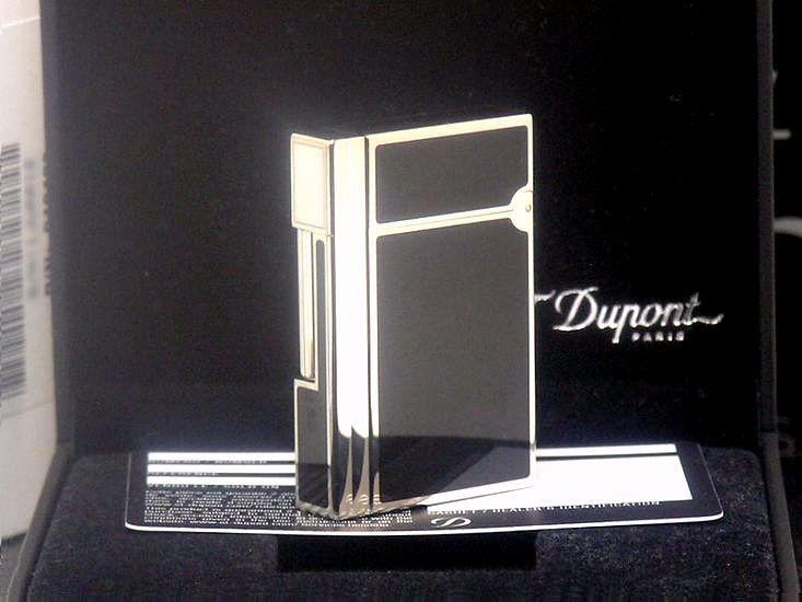 【即決】 新品未使用品 日本限定 ブラック S.T.Dupont ガスライター ギャッツビー◆デュポン ギャツビー 葉巻iたばこ喫煙具グッズ_S.T.Dupontライター