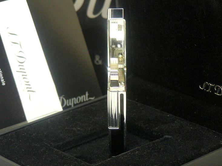 【即決】 新品未使用品 日本限定 ブラック S.T.Dupont ガスライター ギャッツビー◆デュポン ギャツビー 葉巻iたばこ喫煙具グッズ_画像6
