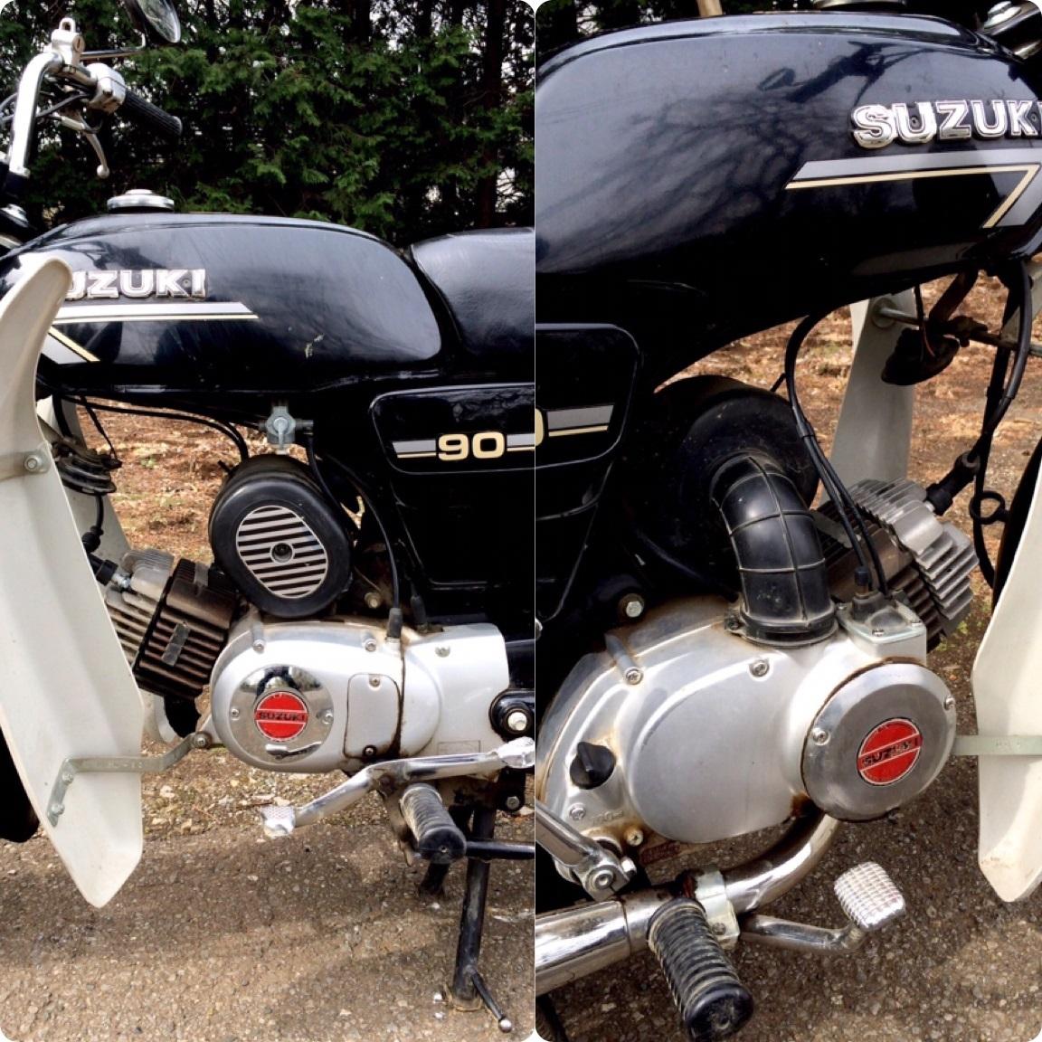 実働ベース  スズキ K90 旧車 昭和ビジネスバイク_画像9
