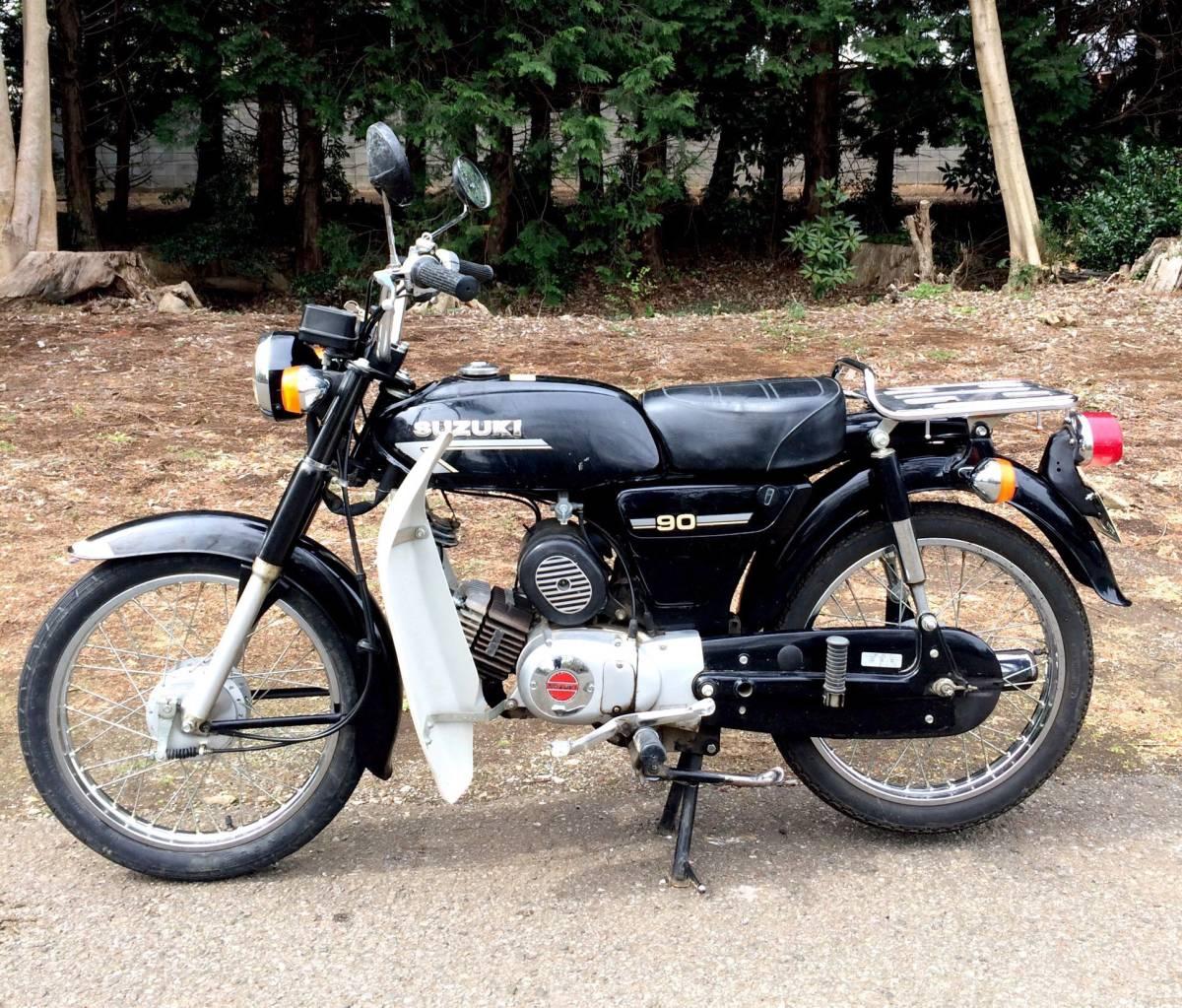 実働ベース  スズキ K90 旧車 昭和ビジネスバイク_画像2