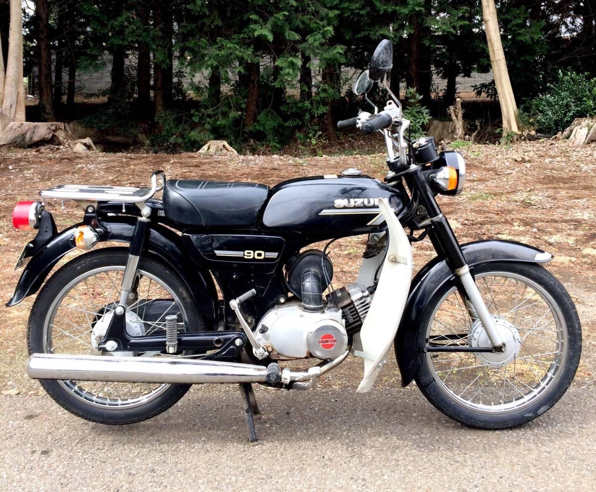 実働ベース  スズキ K90 旧車 昭和ビジネスバイク