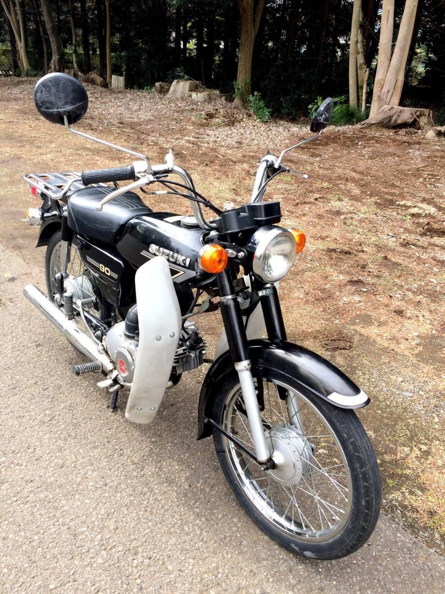 実働ベース  スズキ K90 旧車 昭和ビジネスバイク_画像3