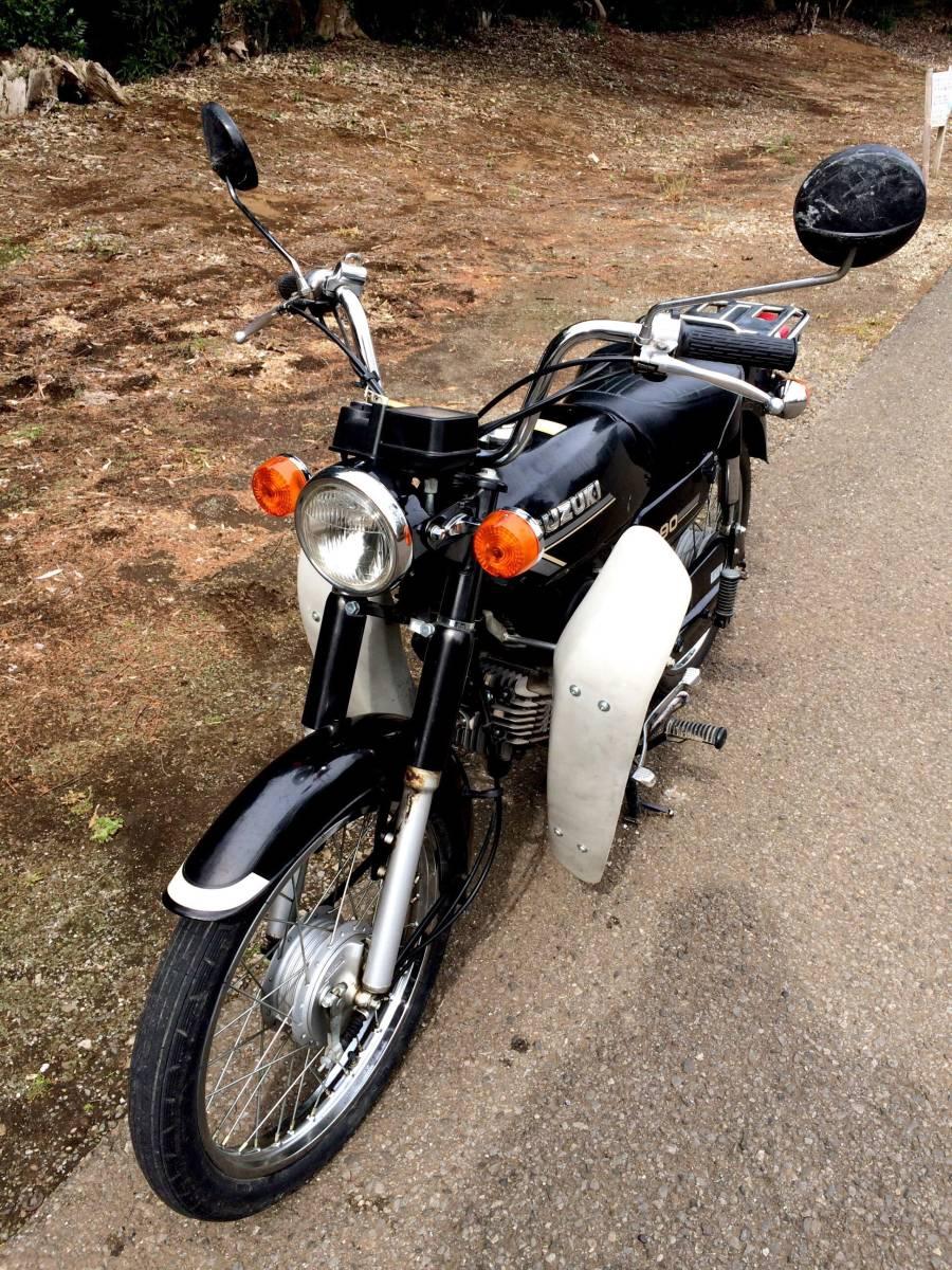 実働ベース  スズキ K90 旧車 昭和ビジネスバイク_画像4