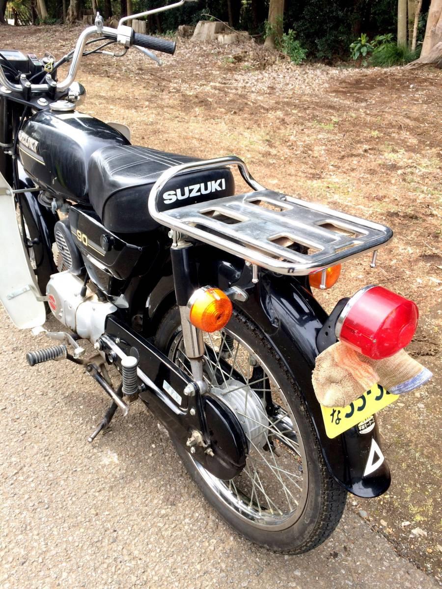実働ベース  スズキ K90 旧車 昭和ビジネスバイク_画像6