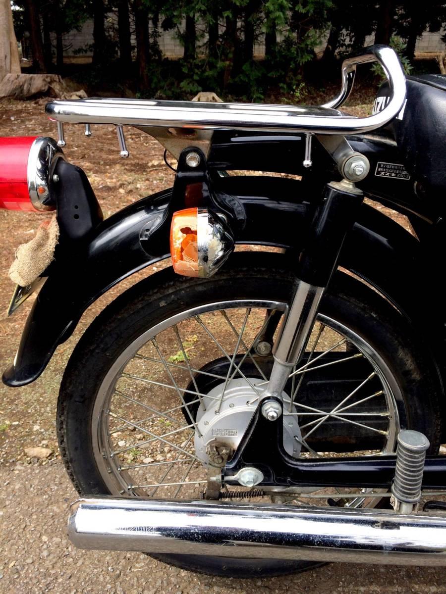 実働ベース  スズキ K90 旧車 昭和ビジネスバイク_画像8