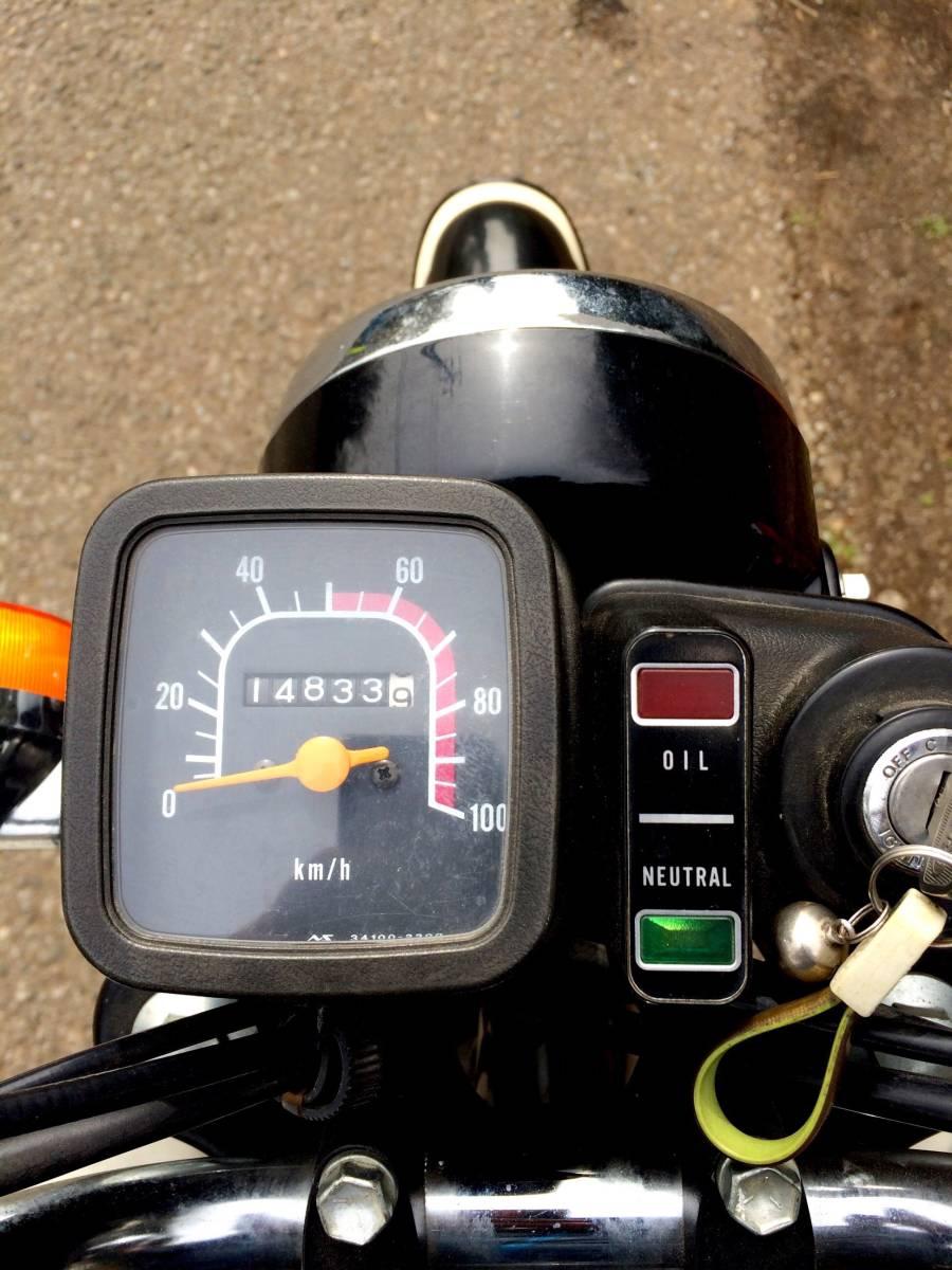 実働ベース  スズキ K90 旧車 昭和ビジネスバイク_画像7