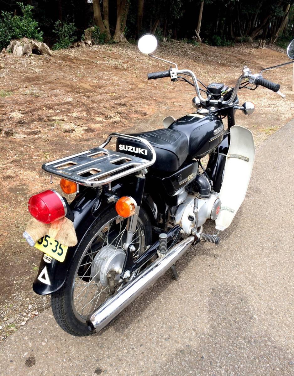 実働ベース  スズキ K90 旧車 昭和ビジネスバイク_画像5