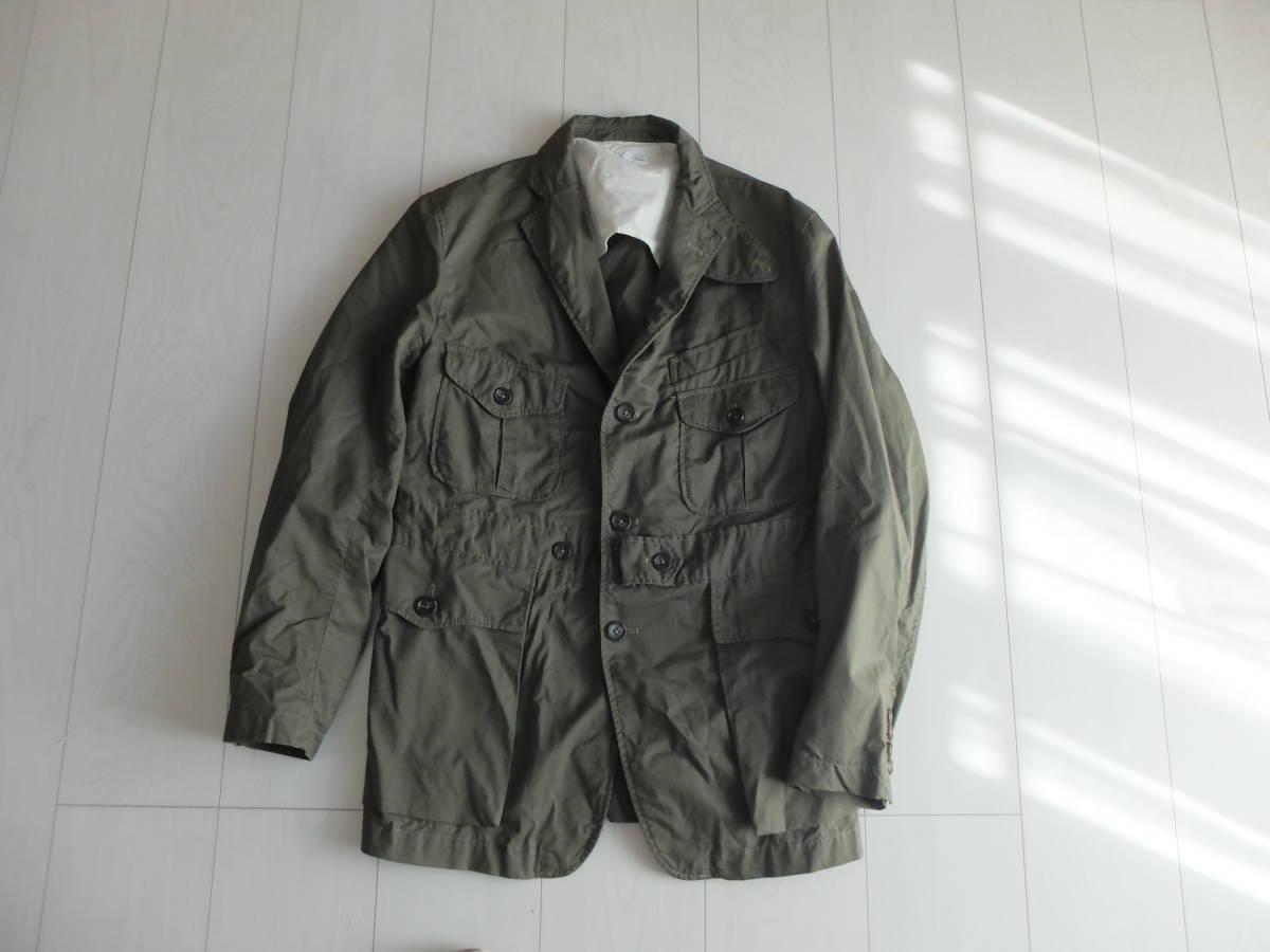 新品同様★人気★春★ Engineered Garments エンジニアードガーメンツ Ghurka jacket-French Twill オリーブS