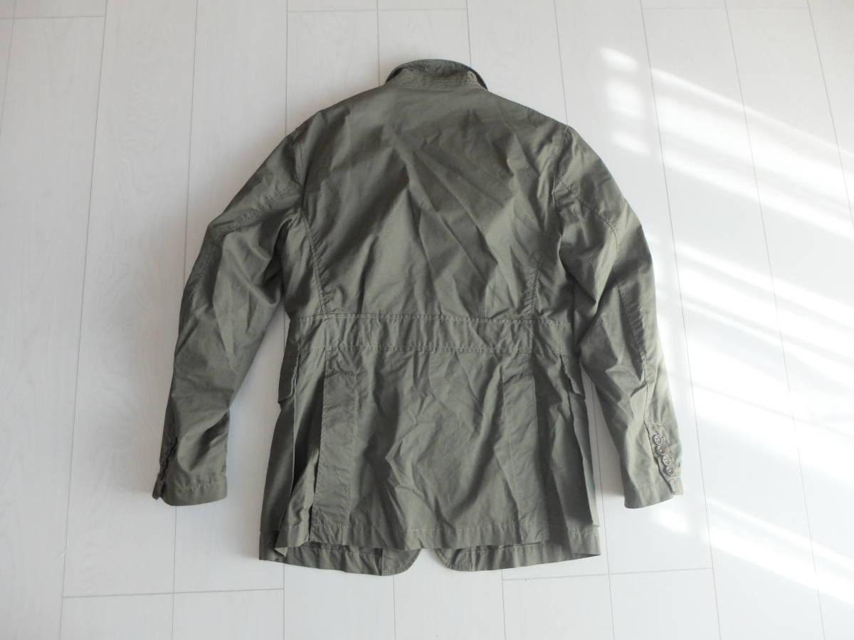 新品同様★人気★春★ Engineered Garments エンジニアードガーメンツ Ghurka jacket-French Twill オリーブS_画像4