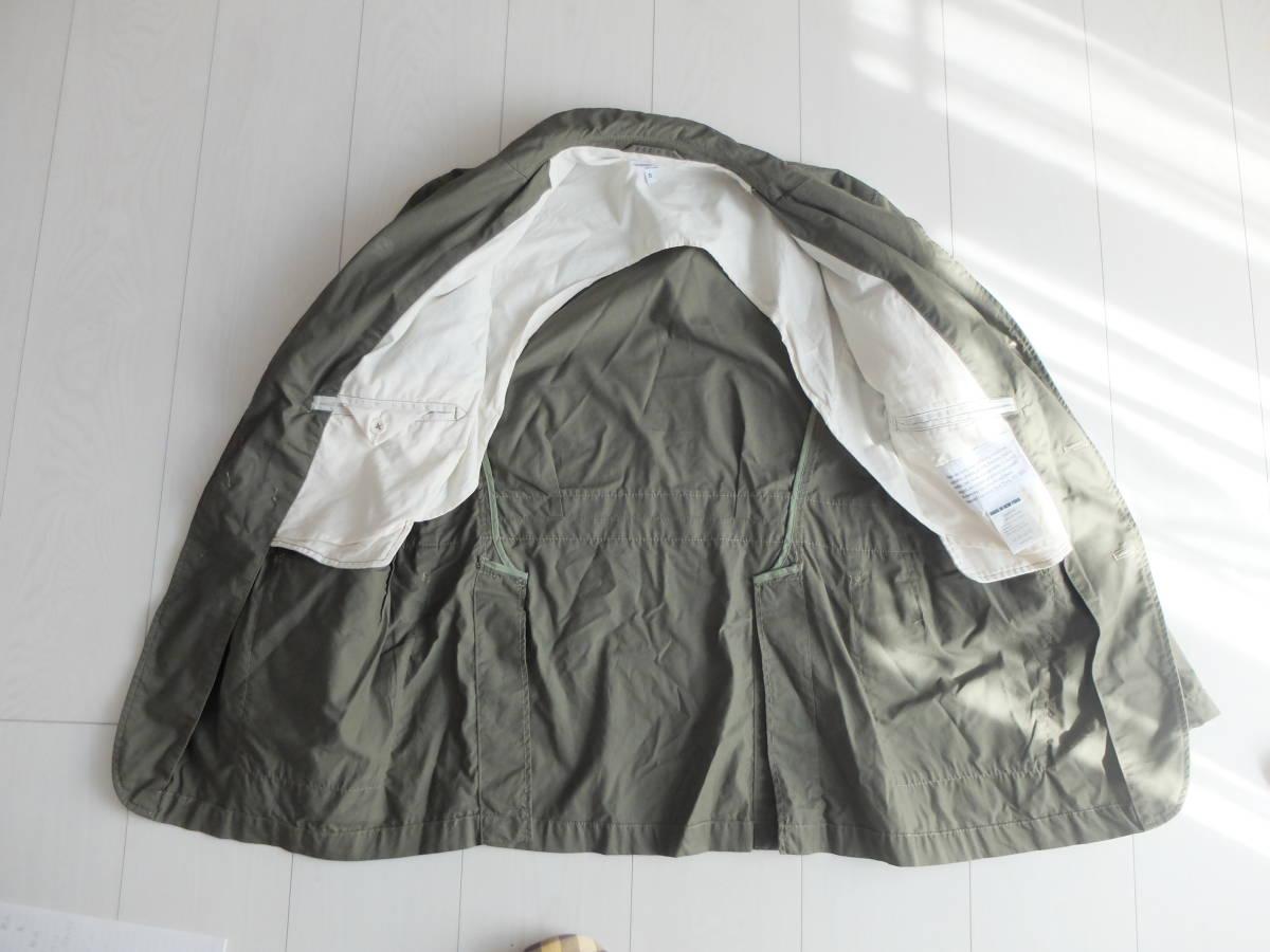 新品同様★人気★春★ Engineered Garments エンジニアードガーメンツ Ghurka jacket-French Twill オリーブS_画像5
