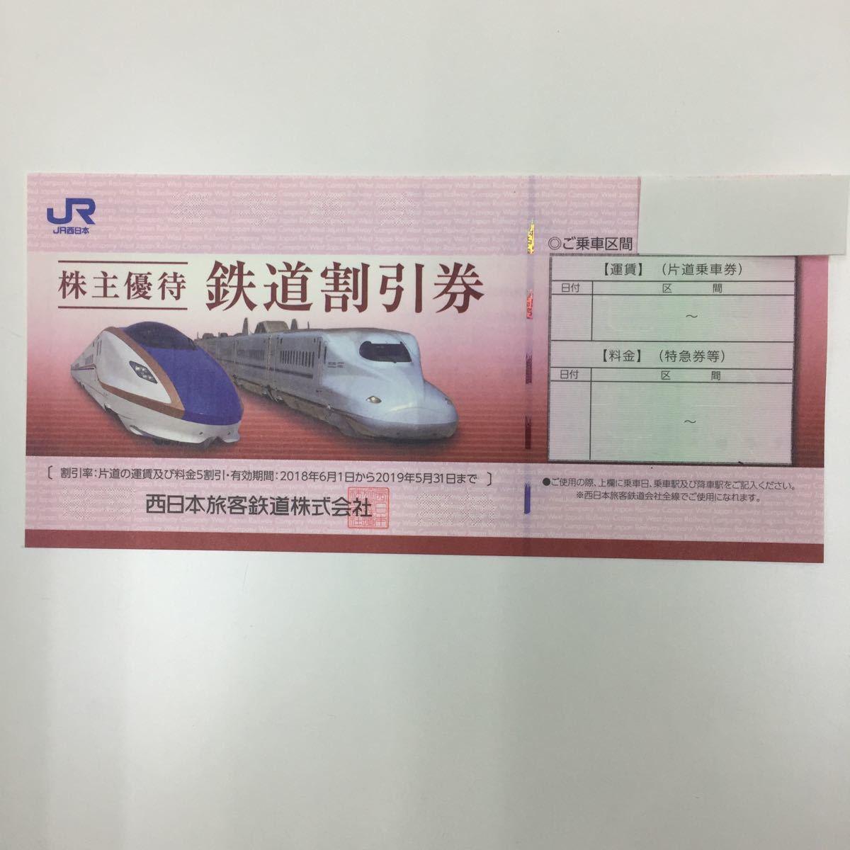 ★JR西日本株主優待券セット 1枚_画像2