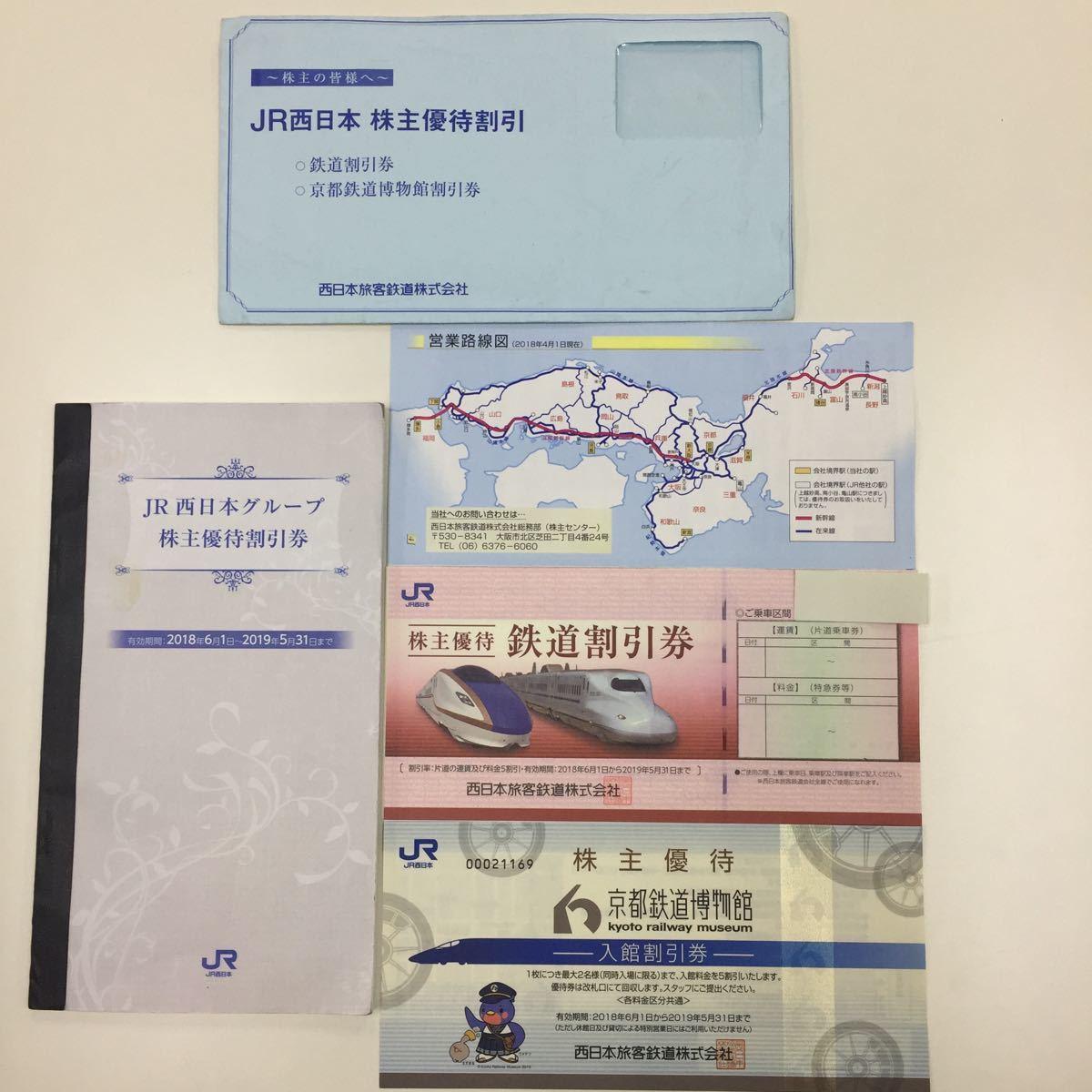 ★JR西日本株主優待券セット 1枚