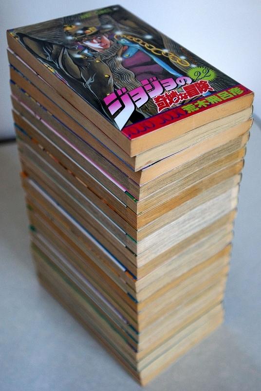 (古本・送料無料)「ジョジョの奇妙な冒険」 1巻~63巻セット_画像6