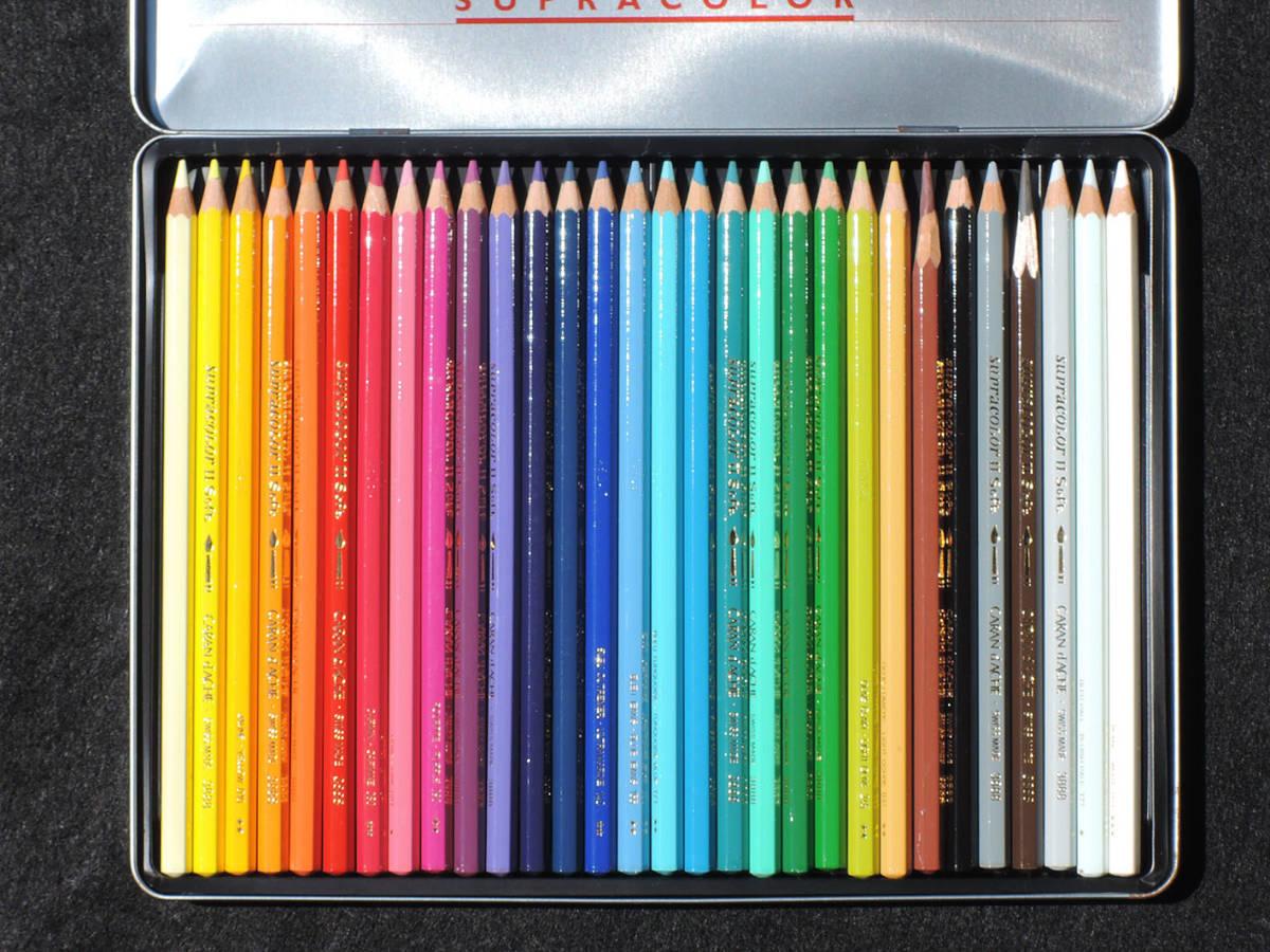 CARAN d'ACHE カランダッシュ Neocolor II ネオカラー x 72色 Supracolor II Soft x 10 + 30色_画像8