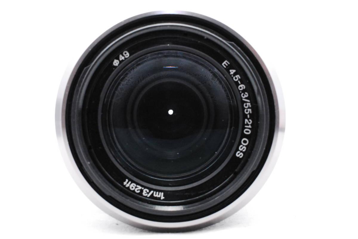 ☆SONY ソニー E F4.5-6.3 55-210mm OSS 純正フード ALC-SH115付き