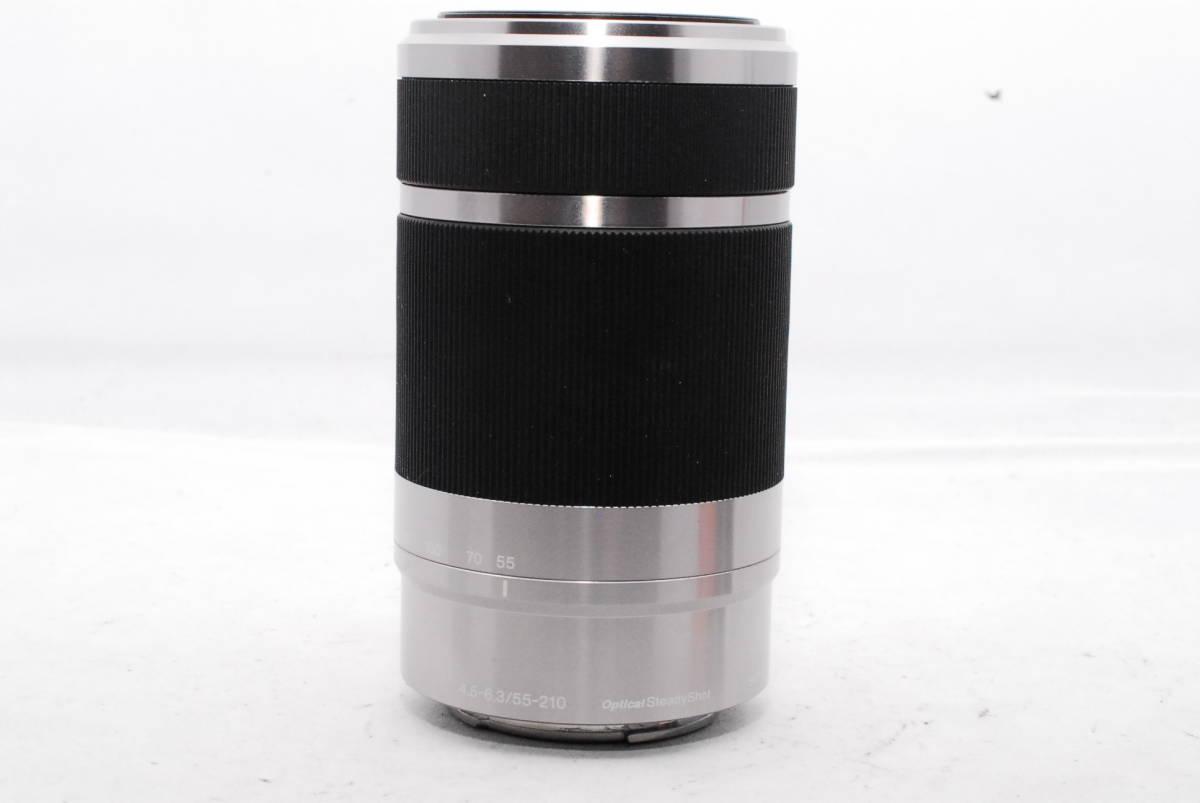 ☆SONY ソニー E F4.5-6.3 55-210mm OSS 純正フード ALC-SH115付き_画像3