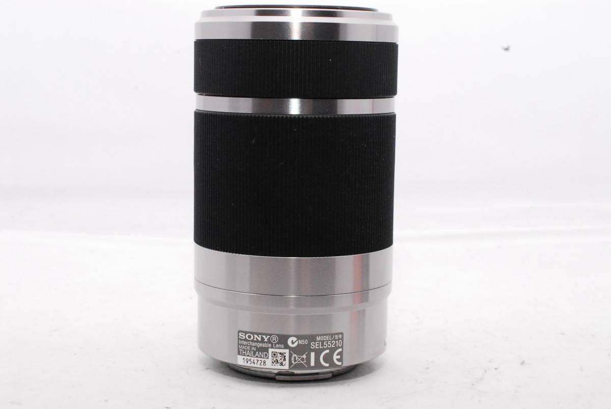 ☆SONY ソニー E F4.5-6.3 55-210mm OSS 純正フード ALC-SH115付き_画像4