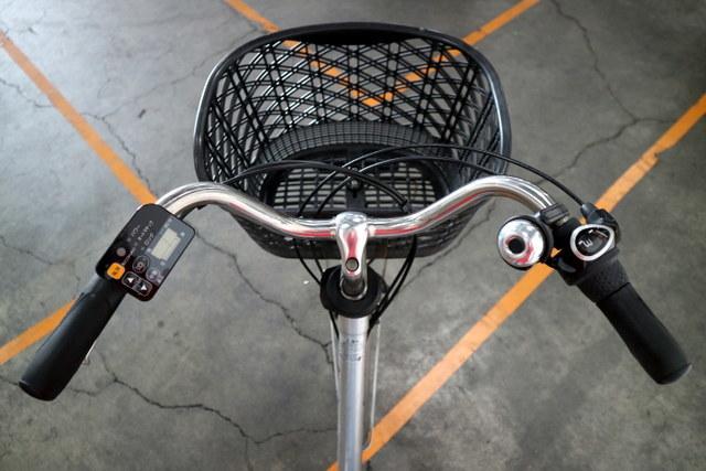 ★7001 PANASONIC 電動アシスト自転車 ビビ・DX 26型 内装3段変速 プラズマシルバー(BE-END636S) ★_画像2