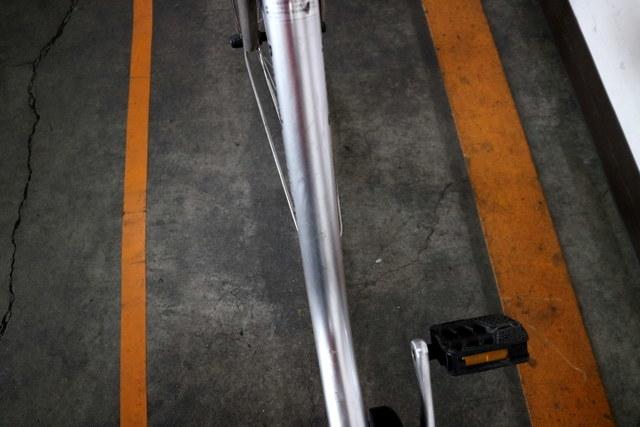★7001 PANASONIC 電動アシスト自転車 ビビ・DX 26型 内装3段変速 プラズマシルバー(BE-END636S) ★_画像10