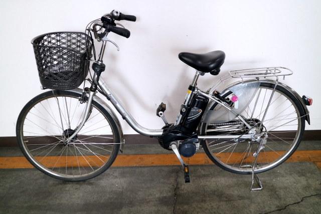 ★7001 PANASONIC 電動アシスト自転車 ビビ・DX 26型 内装3段変速 プラズマシルバー(BE-END636S) ★