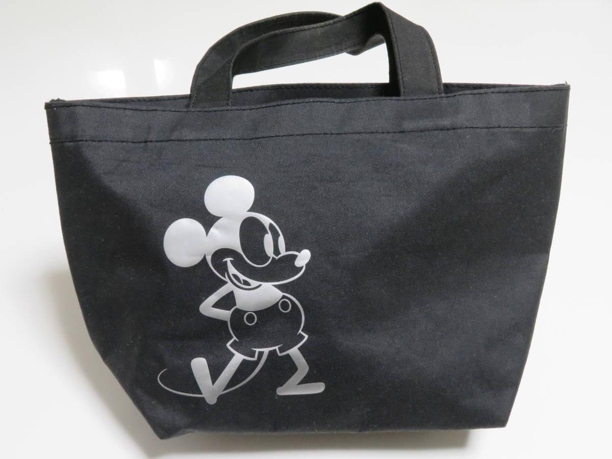 DISNEY BLACK MICKEY POCKET SHOPPING BAG