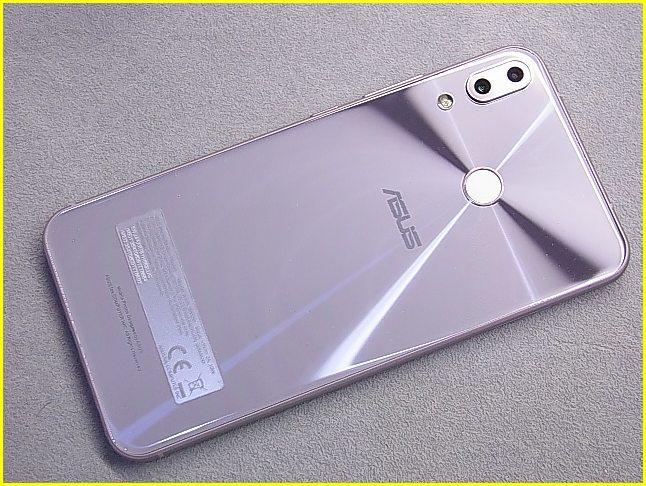 【美品】ASUS ZenFone5 ASUS_X00QD ZE620KL-SL スペースシルバー SIMフリー