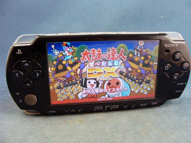 ◆UMDゲーム OK◆SONY   PSP-2000 ◆画面に黒い部分有り→ジャンク◆