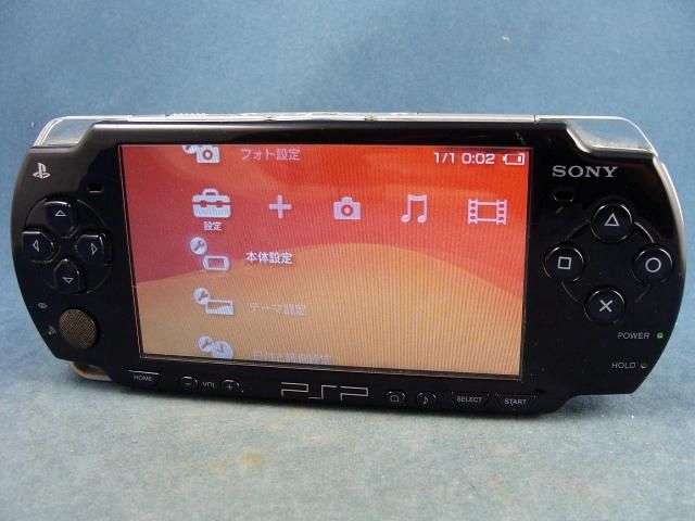 ◆UMDゲーム OK◆SONY   PSP-2000 ◆画面に黒い部分有り→ジャンク◆ _画像3