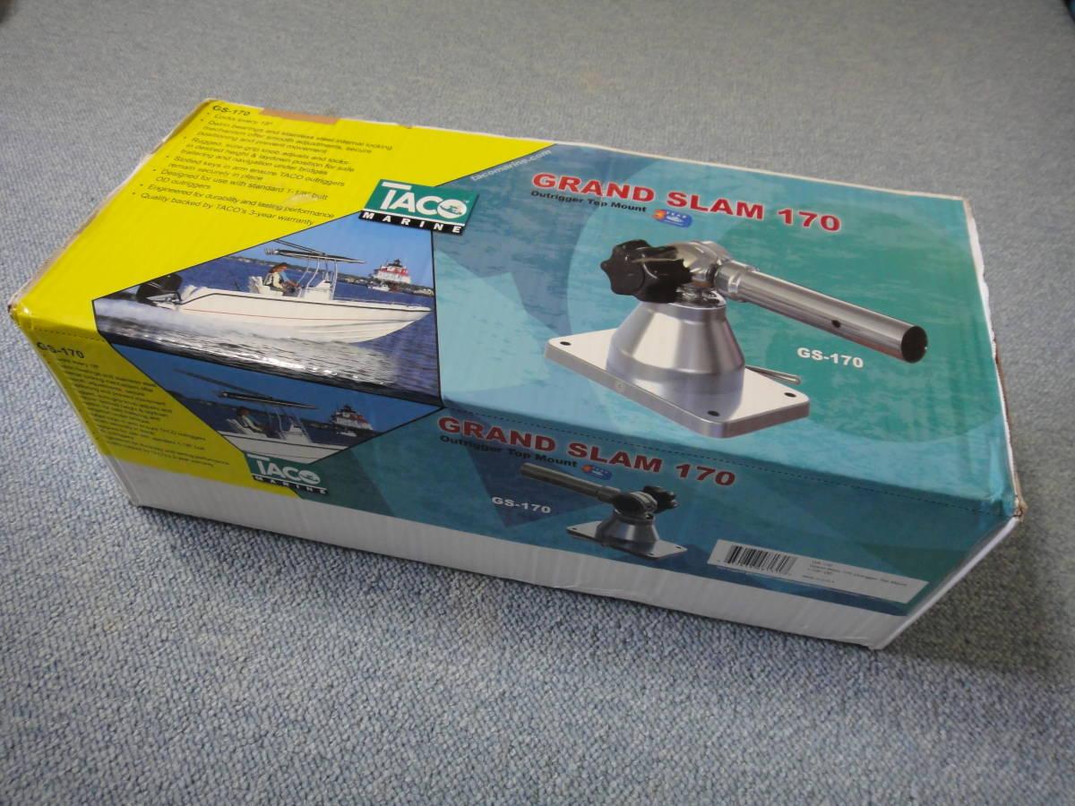 タコ グランドスラム GS170 アウトリガーホルダー TACO GRAND SLAM 170 OUTRIGGER HOLDER センターリガーにも 新品箱入り_画像1