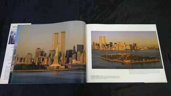 洋書 『ニューヨーク空中散歩写真集 Above New York』 ロバート・キャメロン(Robert Cameron) 今はなきワールドセンタービルの写真あり_画像6