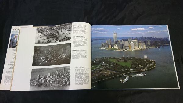 洋書 『ニューヨーク空中散歩写真集 Above New York』 ロバート・キャメロン(Robert Cameron) 今はなきワールドセンタービルの写真あり_画像3