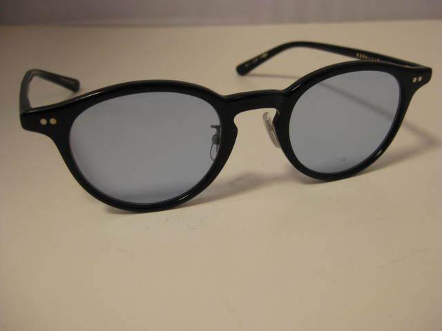 1円~・未使用・金子眼鏡 サングラス KC-12R BKBK CELLULOID ブラックセルフレーム 全国送料510円!!_画像2