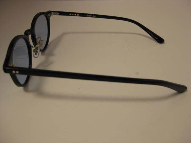 1円~・未使用・金子眼鏡 サングラス KC-12R BKBK CELLULOID ブラックセルフレーム 全国送料510円!!_画像4