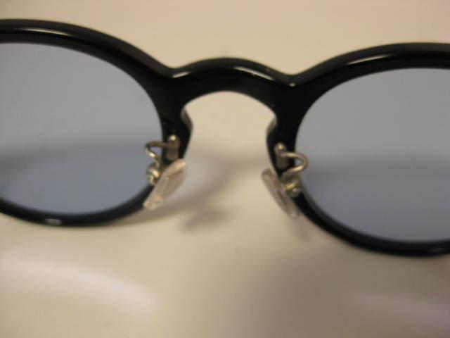 1円~・未使用・金子眼鏡 サングラス KC-12R BKBK CELLULOID ブラックセルフレーム 全国送料510円!!_画像5