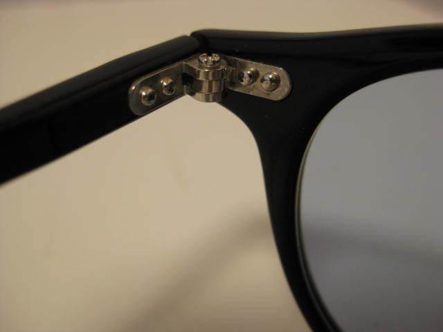 1円~・未使用・金子眼鏡 サングラス KC-12R BKBK CELLULOID ブラックセルフレーム 全国送料510円!!_画像6