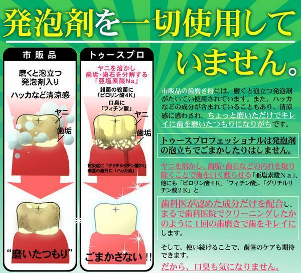 【送料無料】■トゥースプロフェッショナル 20ml■歯のホワイトニング・クリーニング液 歯の黄ばみやヤニを真っ白に♪_画像4