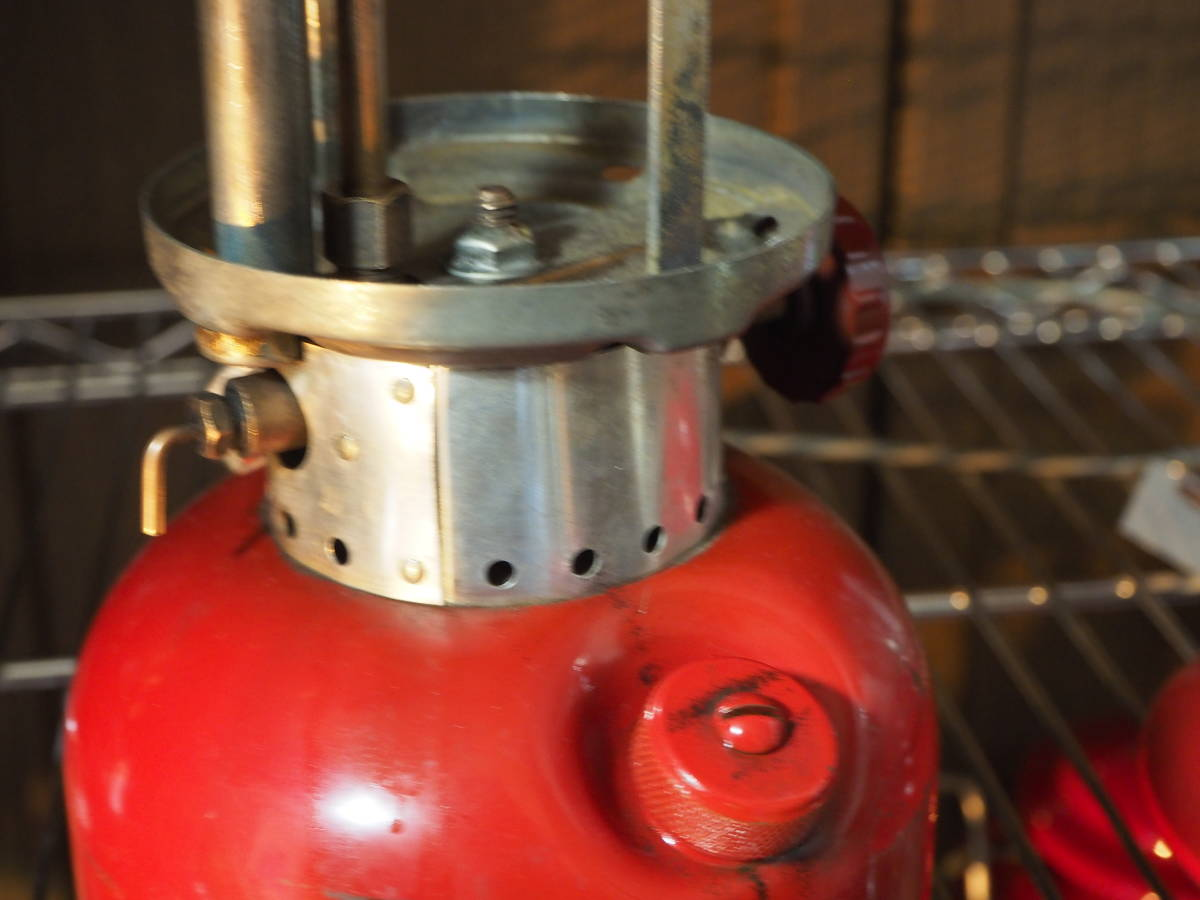 絶好調★1963年10月製コールマン200Aランタン(通称レッドボーダー) すぐ使える実働機。燃焼に自信あり。燃焼テストお見せします。 a33z_画像7