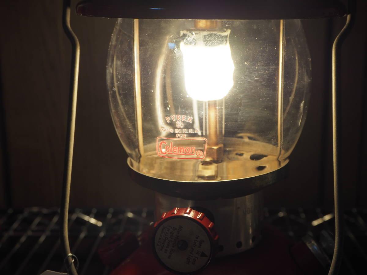 絶好調★1963年10月製コールマン200Aランタン(通称レッドボーダー) すぐ使える実働機。燃焼に自信あり。燃焼テストお見せします。 a33z_画像8
