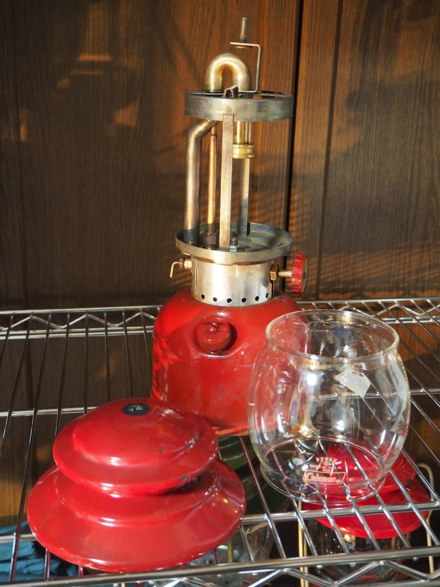 絶好調★1963年10月製コールマン200Aランタン(通称レッドボーダー) すぐ使える実働機。燃焼に自信あり。燃焼テストお見せします。 a33z_画像3