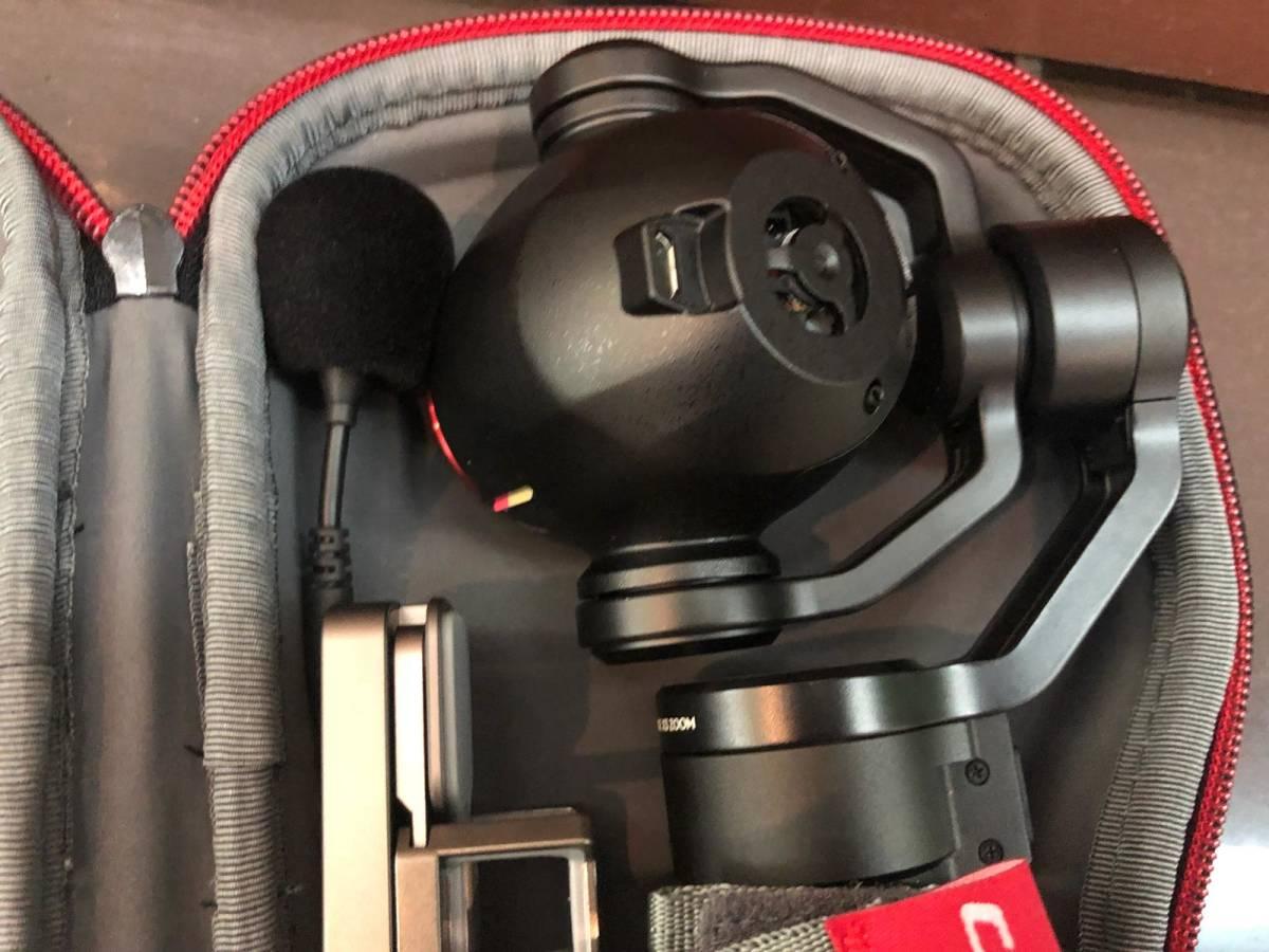 下即決 美品 DJI Osmo plus 3.5X optical ジンバル スタビライザー 4K 3.5X 小型カメラ 箱あり 付属品あり スマホ対応 送料無料_画像3