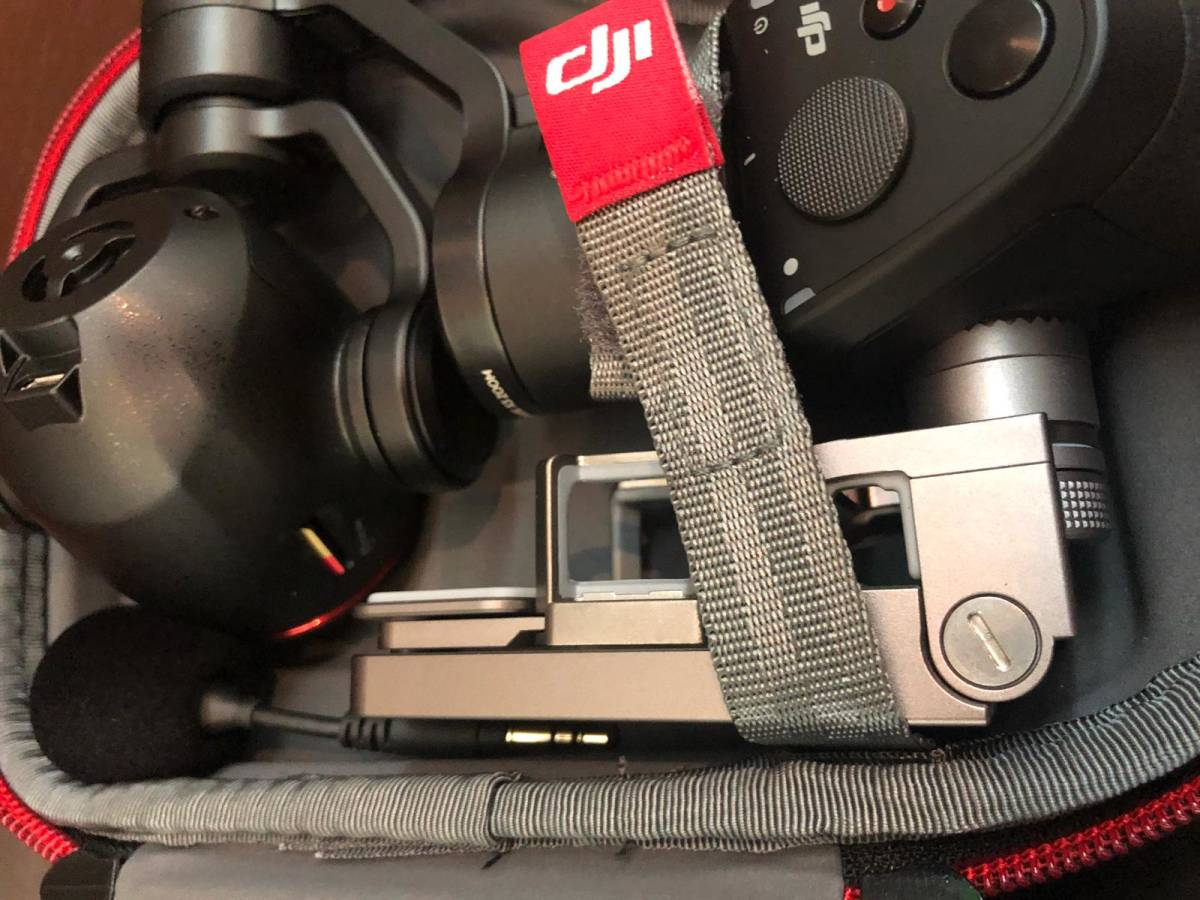 下即決 美品 DJI Osmo plus 3.5X optical ジンバル スタビライザー 4K 3.5X 小型カメラ 箱あり 付属品あり スマホ対応 送料無料_画像4