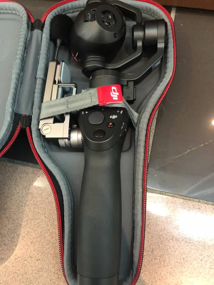 下即決 美品 DJI Osmo plus 3.5X optical ジンバル スタビライザー 4K 3.5X 小型カメラ 箱あり 付属品あり スマホ対応 送料無料