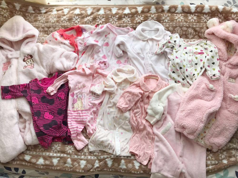 9f7e0d81c3ece ベビー 赤ちゃん 子供 服 新生児 ロンパース ドレス カバーオール 50 60 70 サイズ 女の子 まとめ キティ サンリオ