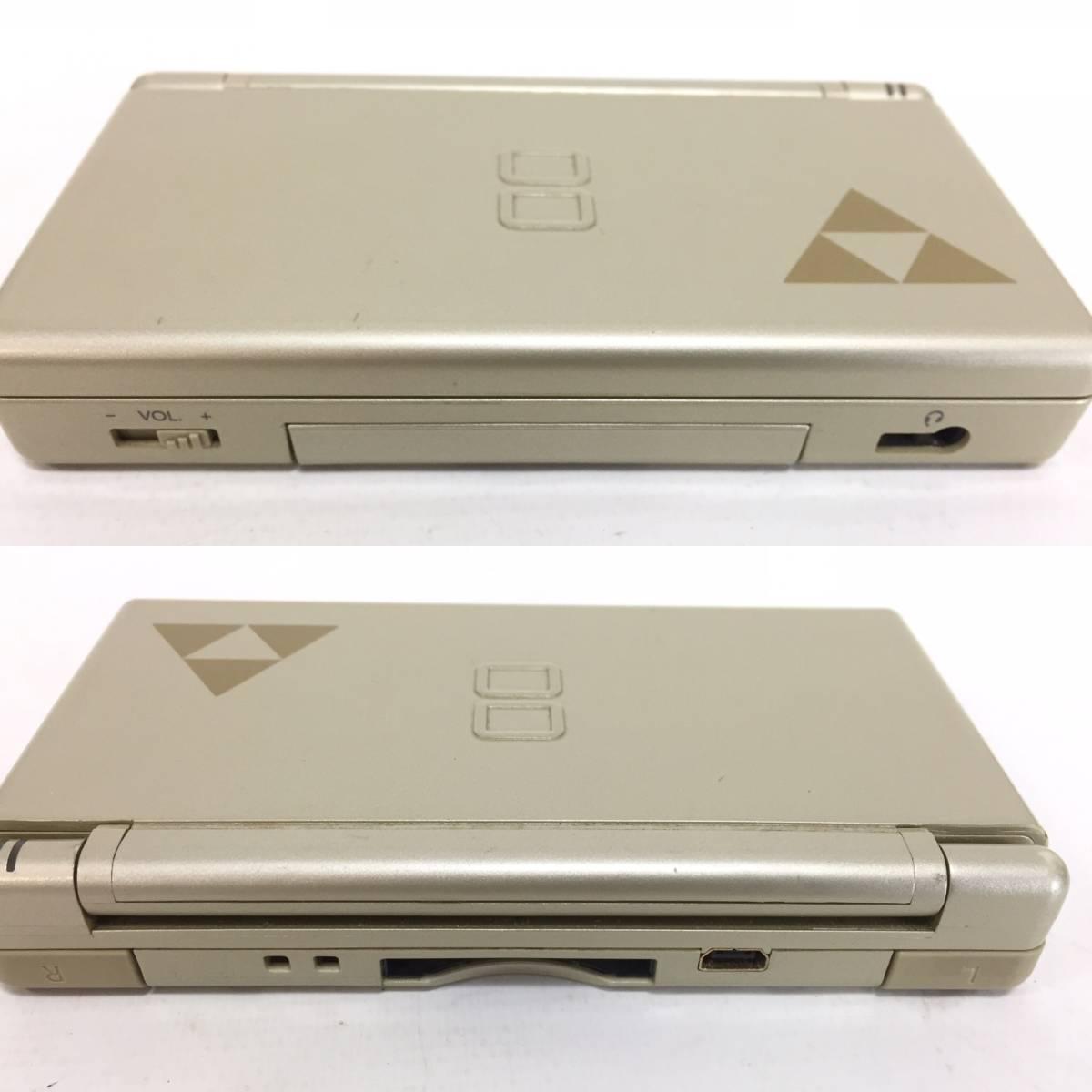 ニンテンドー DS Lite 本体 ゴールド DSライト ゼルダの伝説仕様 海外版 北米版 タッチペン アダプター 取説 箱付 動作品 Nintendo1904414_画像7