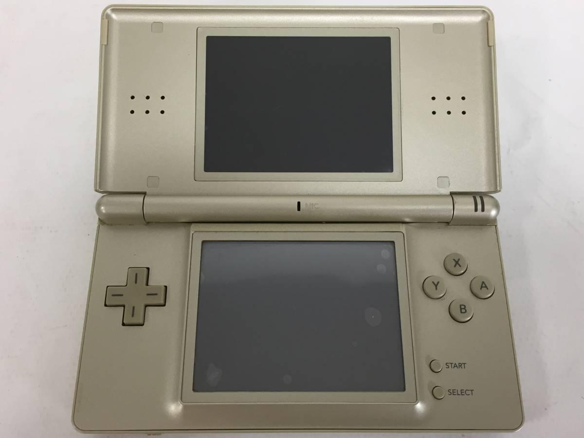 ニンテンドー DS Lite 本体 ゴールド DSライト ゼルダの伝説仕様 海外版 北米版 タッチペン アダプター 取説 箱付 動作品 Nintendo1904414_画像3