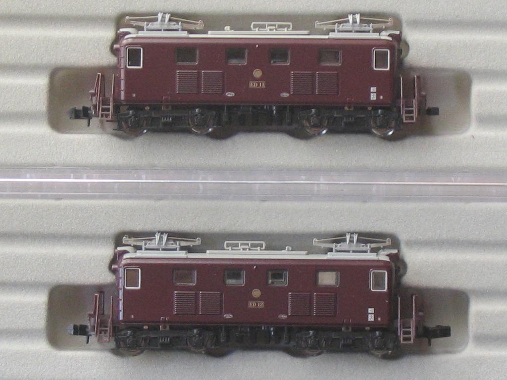 マイクロエース A2060 相模鉄道 ED11+ED12 重連セット_画像4