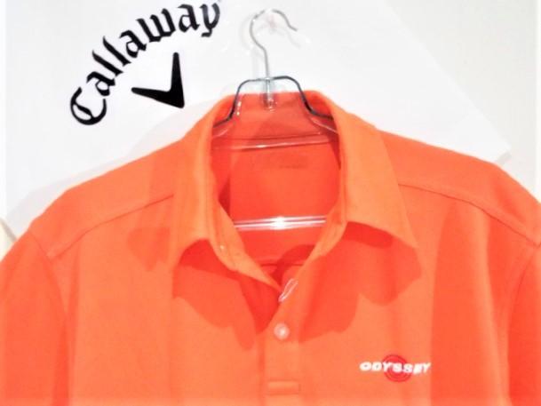 ◎新品◎Callaway キャロウェイ / オデッセイ Wネーム プルオーバーシャツ DRY / サイズM(USサイズ)_画像5