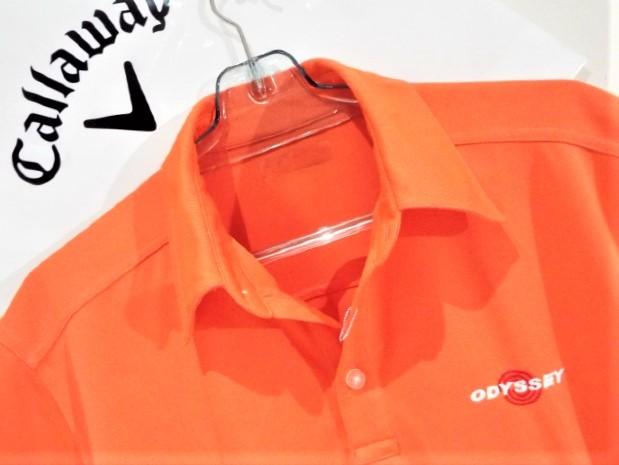 ◎新品◎Callaway キャロウェイ / オデッセイ Wネーム プルオーバーシャツ DRY / サイズM(USサイズ)_画像2