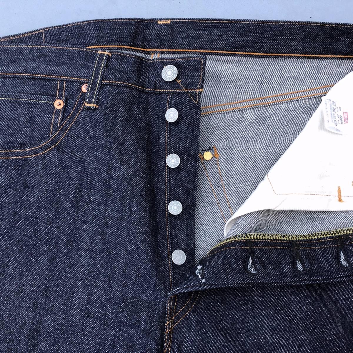 旧 米国製 1955モデル 日本企画 LEVI'S VINTAGE CLOTHING 501XX 55501-0051 W34 L36 リジッド 新品デニムパンツ アメリカUSA製 50s 55s LVC_画像6