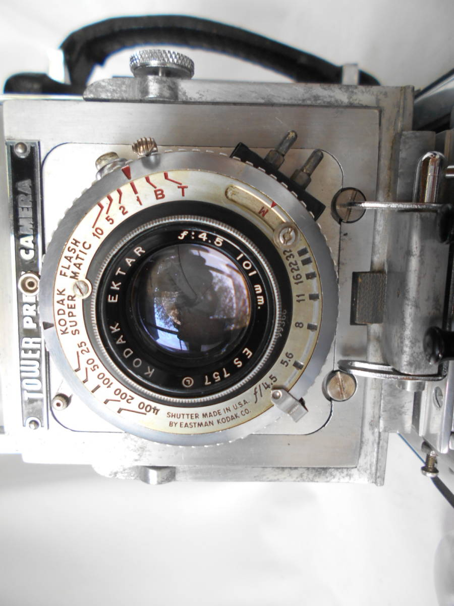 Tower press camera  Kodak Ektar 101mmF4.5  コダック エクター_画像3